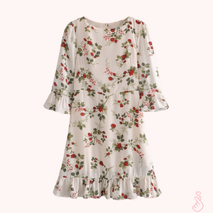 A-1000 Floral Loose Dress