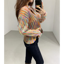 Load image into Gallery viewer, A-971 Rainbow Pullover Sweater