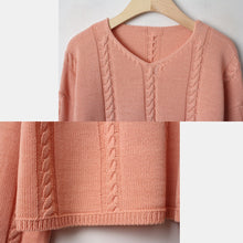 Load image into Gallery viewer, A-931 V-Neck Knit Sweater