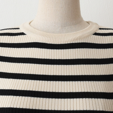 Load image into Gallery viewer, A-1011 Ribbed Striped Top
