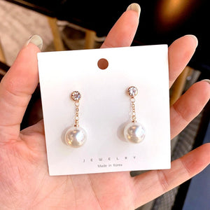 C-1048 Drop Pearl Dangling