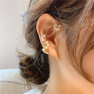 C-1468 Wild Earbone Earrings