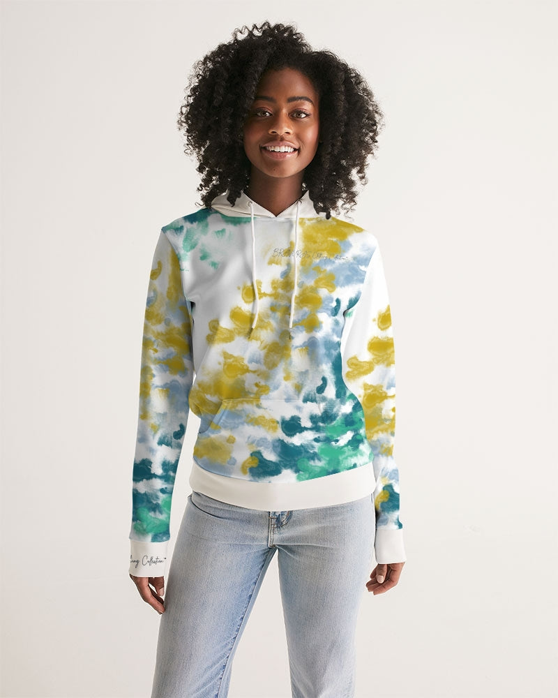 BRAVURAS Clothing Collection Rye Dye Women's Hoodie