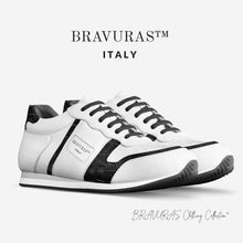 Load image into Gallery viewer, BRAVURAS Italy Vintage Running Trainers (SNAKE SKIN)
