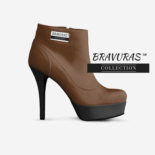 BRAVURAS Collection ANKLE BOOT PLATFORM STILETTO
