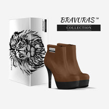 Load image into Gallery viewer, BRAVURAS Collection ANKLE BOOT PLATFORM STILETTO
