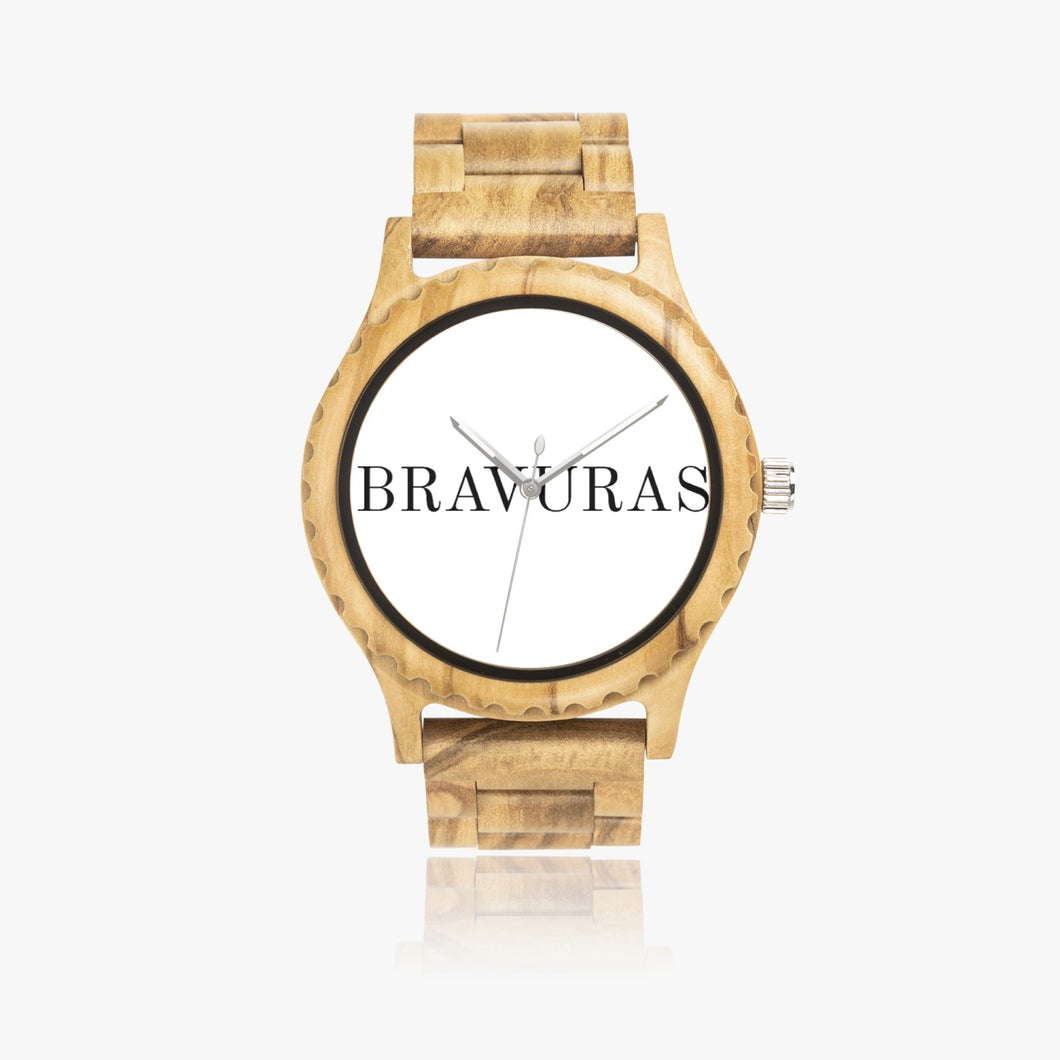 206. Italian Olive Lumber Wooden Watch