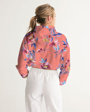Load image into Gallery viewer, BRAVURAS Women's Cropped Windbreaker