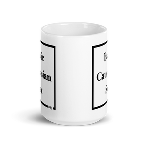 Large Basic Caucasian Sex Mug