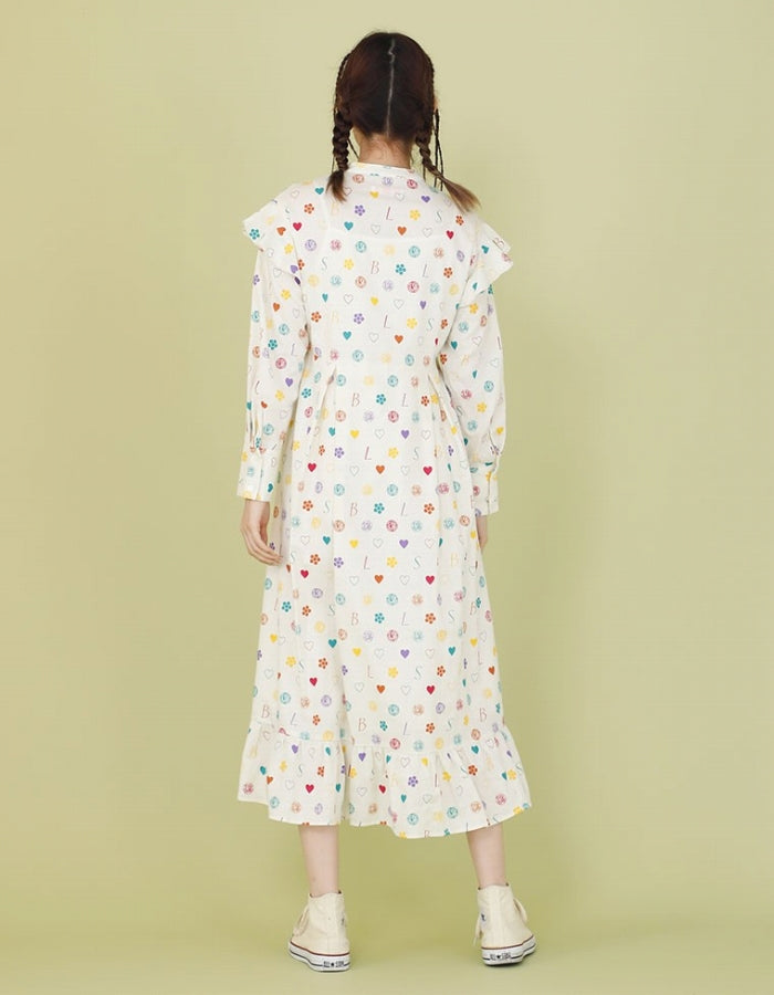 LSB ORIGINAL HEMP DRESS / WHITE