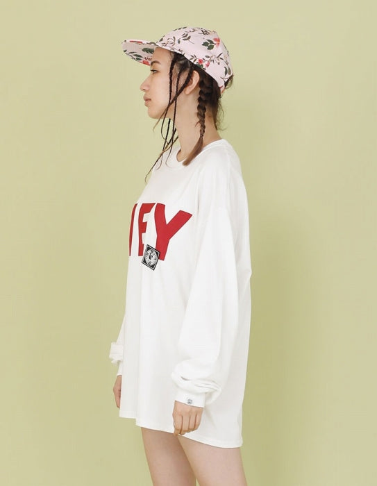 HEY YO LONG TEE / WHITE