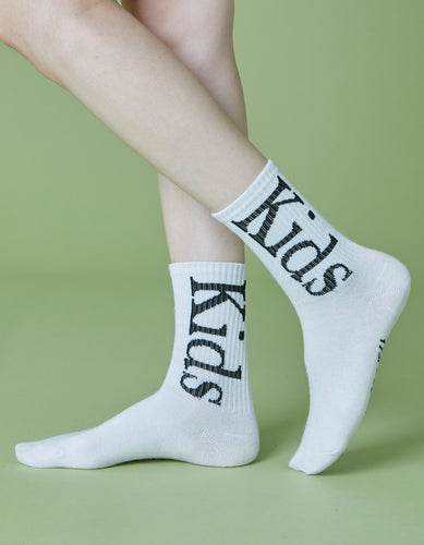 Kids socks / WHITE