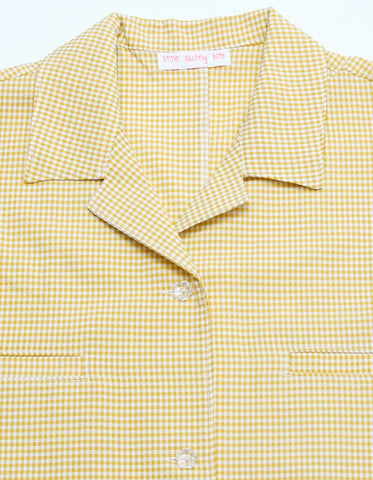 Check shirts / YELLOW