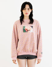 画像をギャラリービューアに読み込む, Valerie phillips × little sunny bite Floral print photo sweat top / PINK