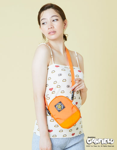 little sunny bite x Garfield mini bag / ORANGE