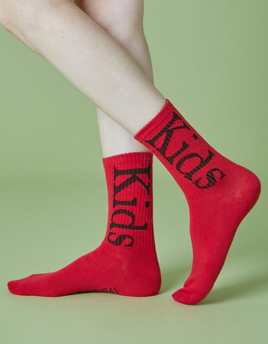 Kids socks / RED