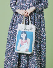 画像をギャラリービューアに読み込む, Charlotte mei x little sunny bite little girl tote bag / NATURAL