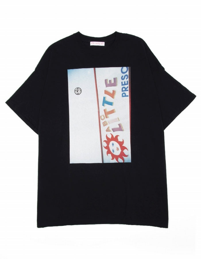 PHOTO BIG TEE / BLACK