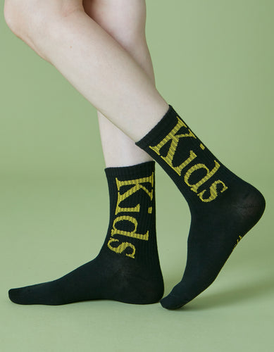 Kids socks / BLACK