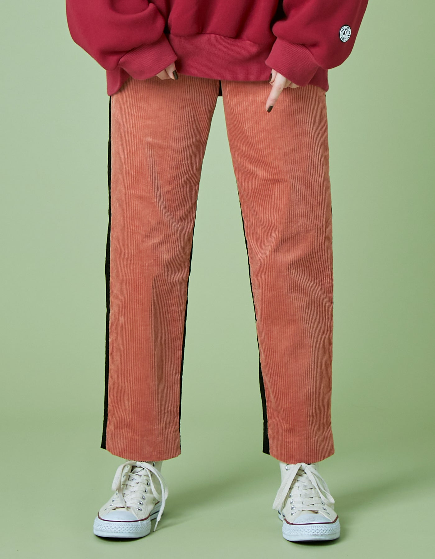 Universal overall x little sunny bite Corduroy pants / PINK