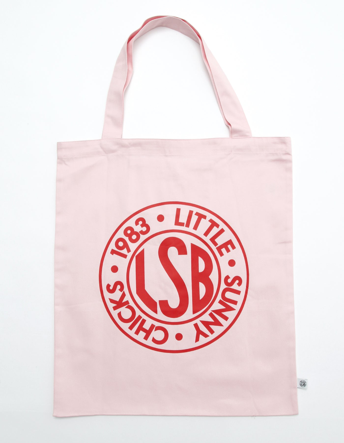 LSB Logo big tote bag / PINK