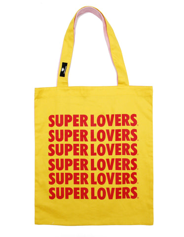 shopping bag / YELLOW