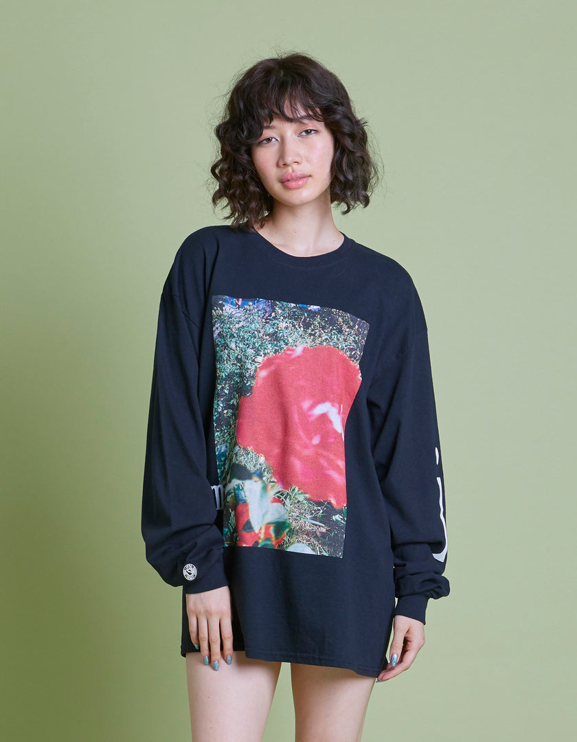 Photo long TEE / BLACK