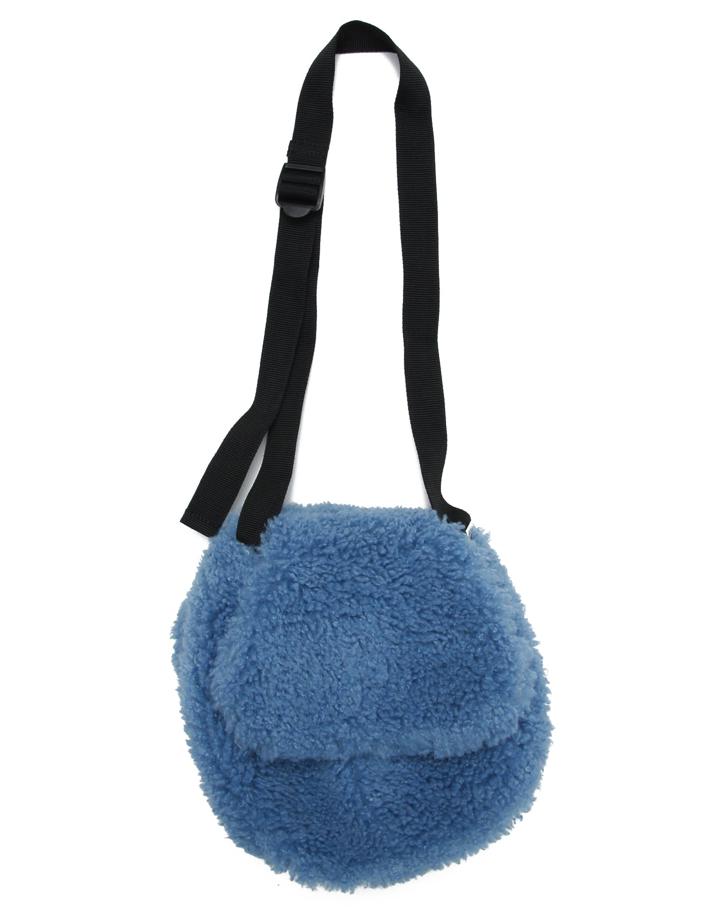 Fur bag / BLUE
