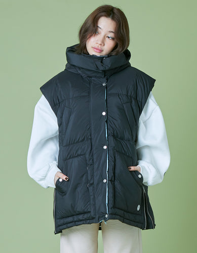 Down Big Vest / BLACK