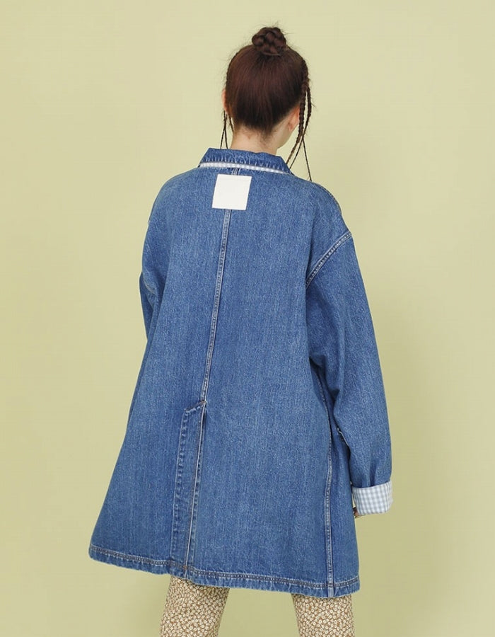 DENIM JACKET / INDIGO