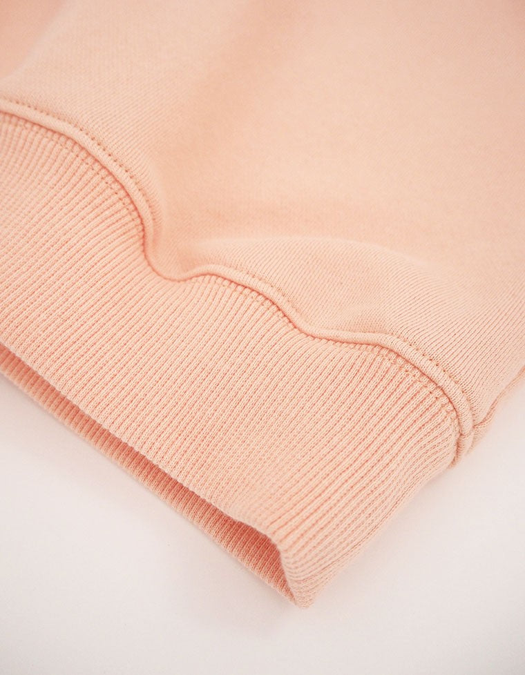 COLLAR ATTACHED SWEATER / PINK