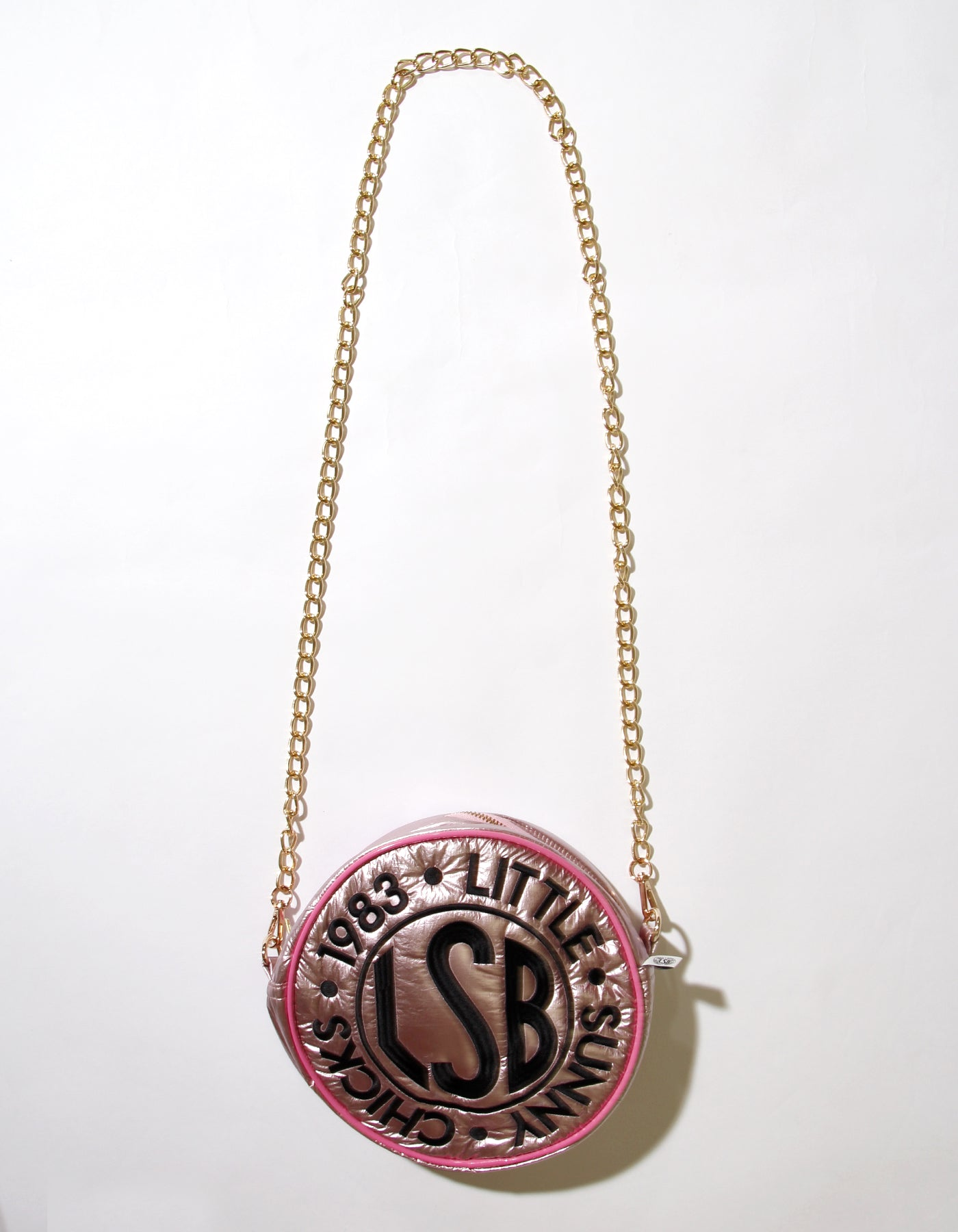 Nylon symbolic bag / PINK