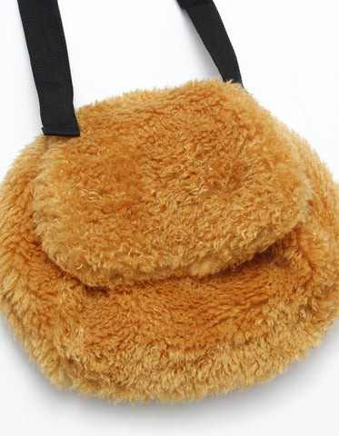 Fur bag / YELLOW