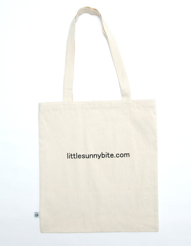 アタックNO1 x little sunny bite Tote bag / NATURAL