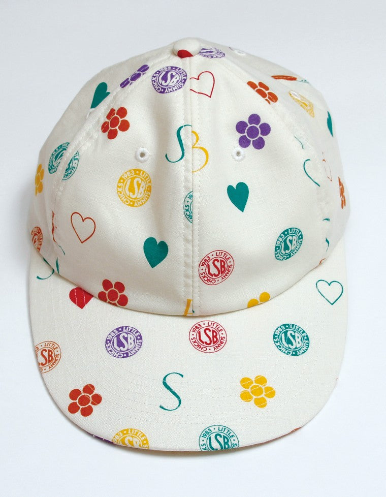 LSB ORIGINAL HEMP CAP / WHITE
