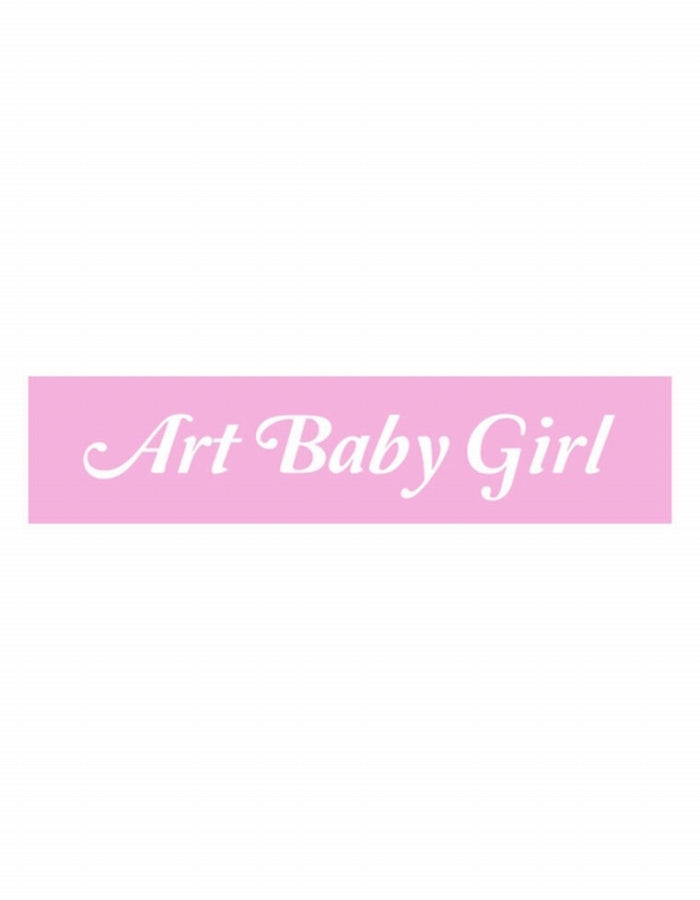 ART BABY GIRL : MIRROR PIN / BLUE