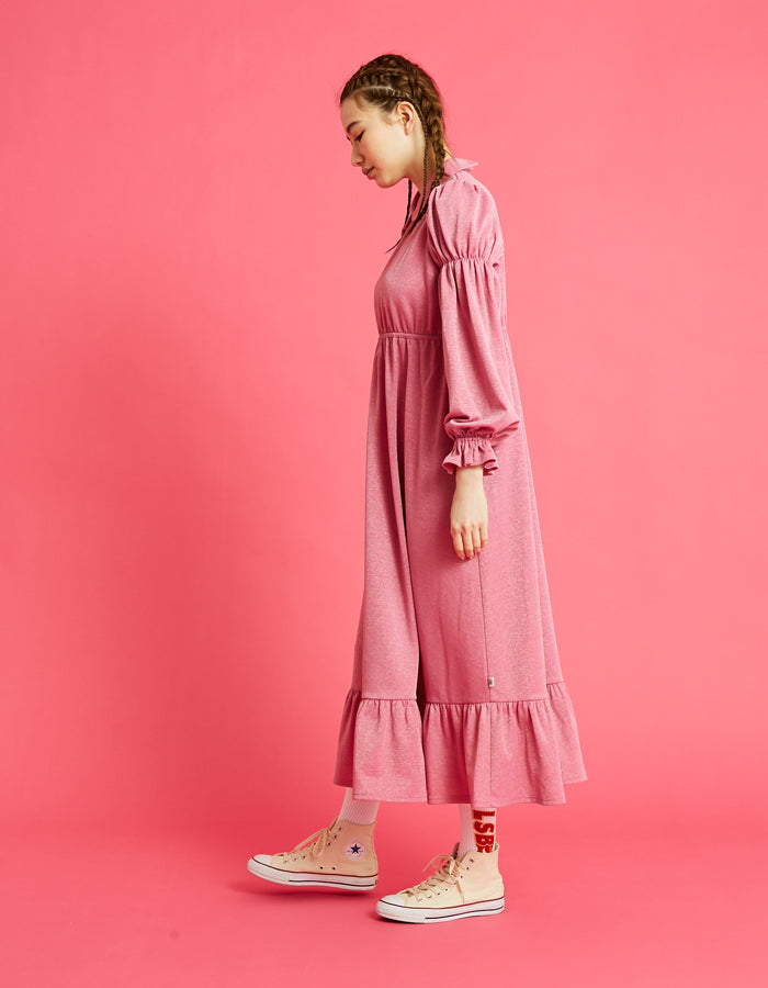 Long girly dress / PINK