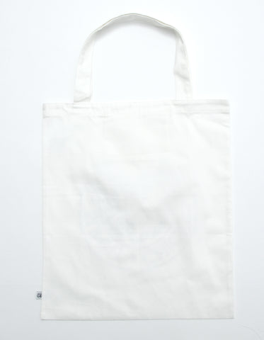 LSB Logo big tote bag / WHITE