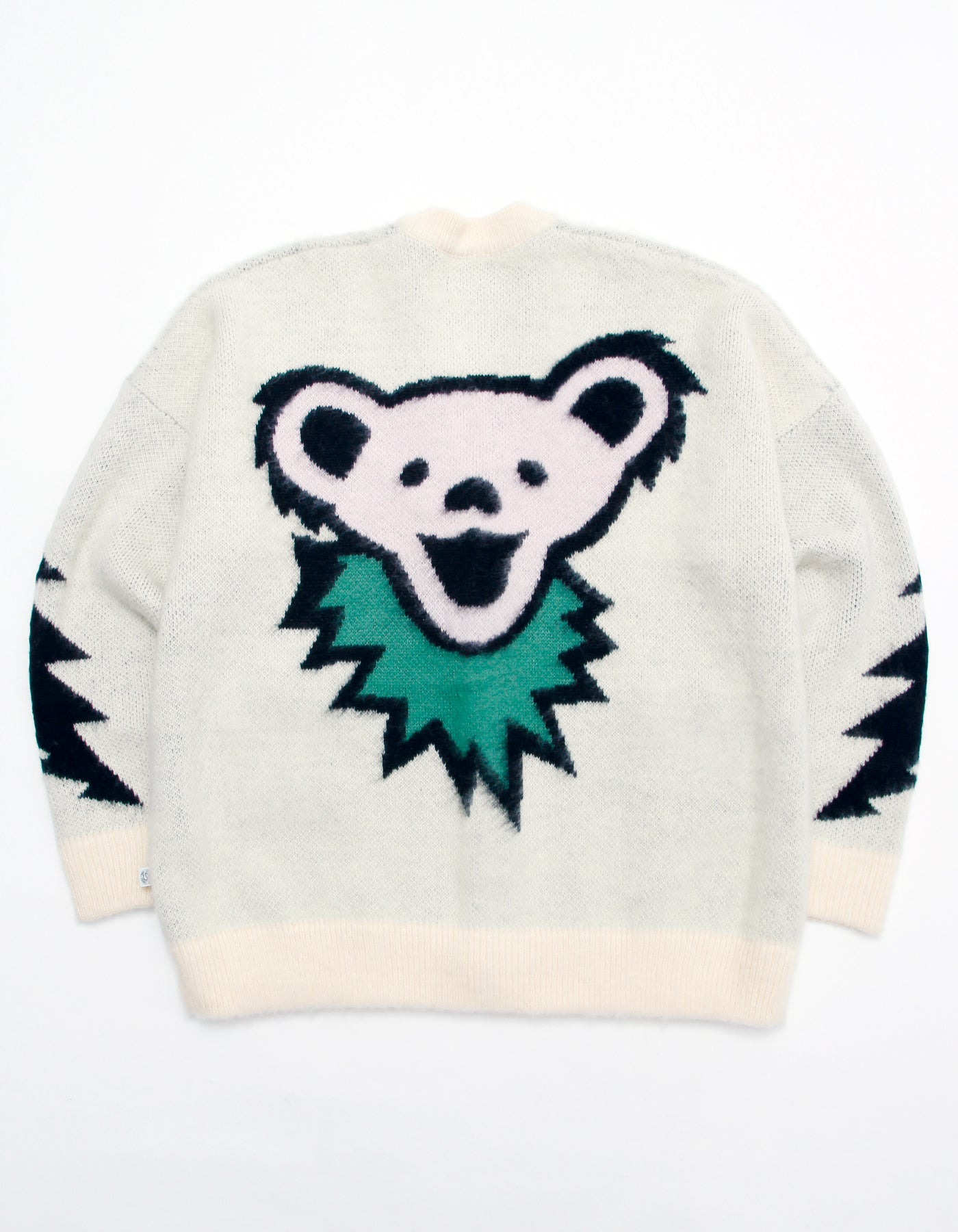 Grateful Dead x little sunny bite Knit cardigan / WHITE