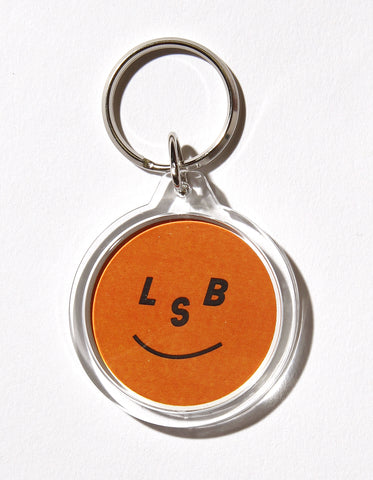 LSB Symbolic circle key chain / WHITE