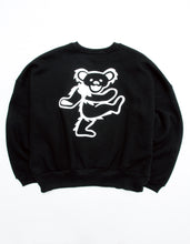 画像をギャラリービューアに読み込む, Grateful Dead x little sunny bite Print sweat top / BLACK