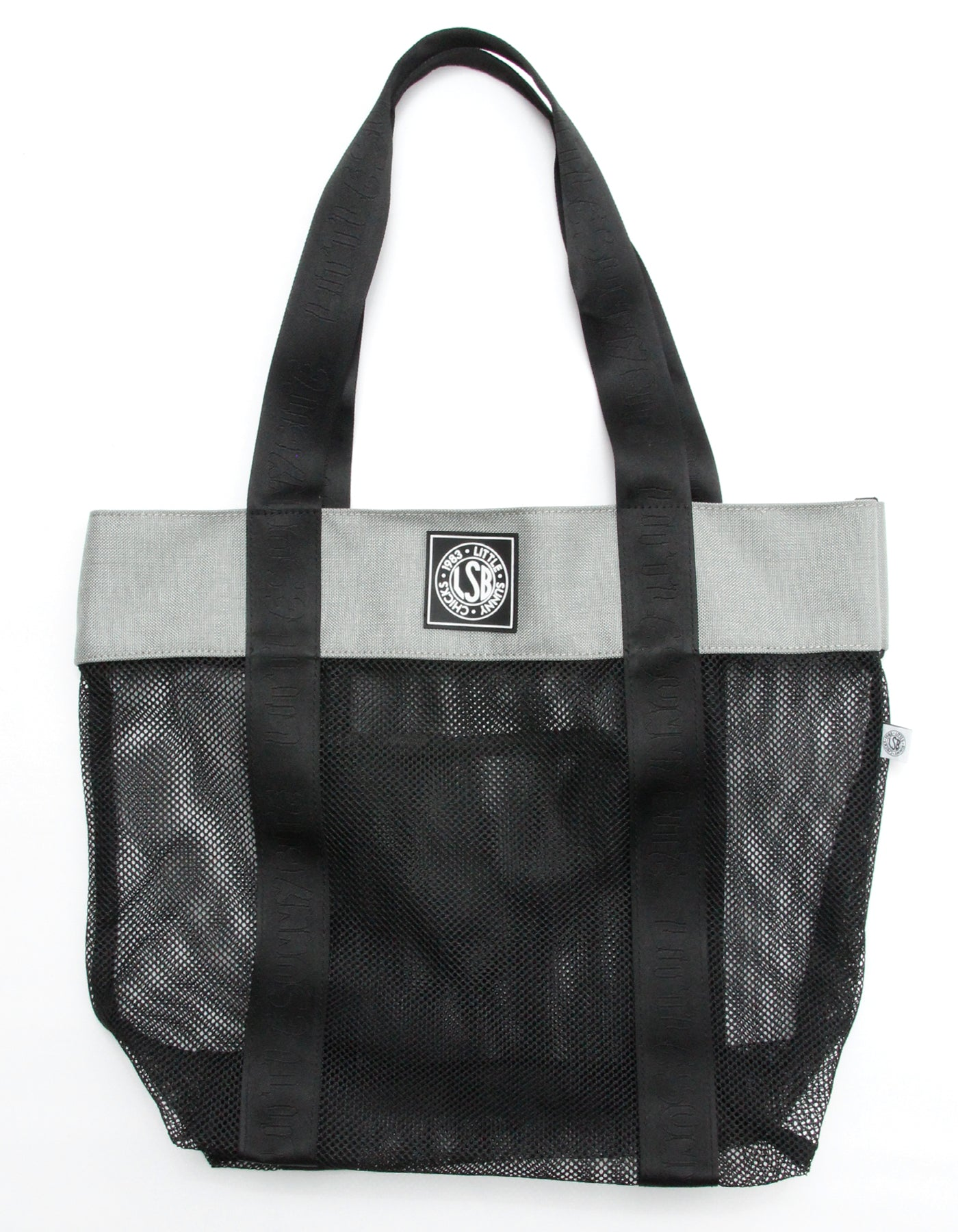 Mesh tote bag / BLACK