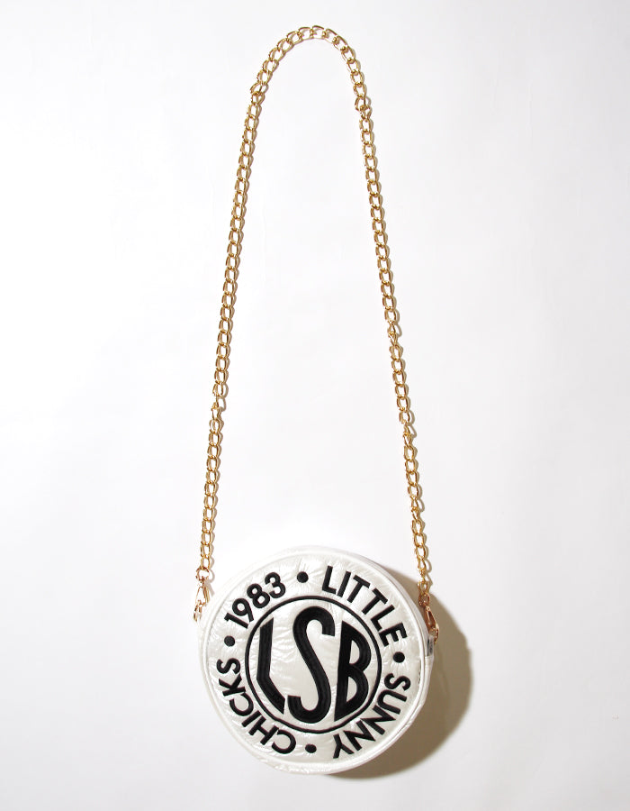 Nylon symbolic bag / WHITE
