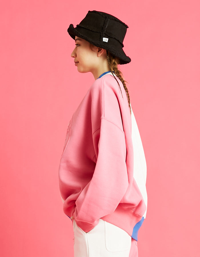 LSB logo sweat top / PINK