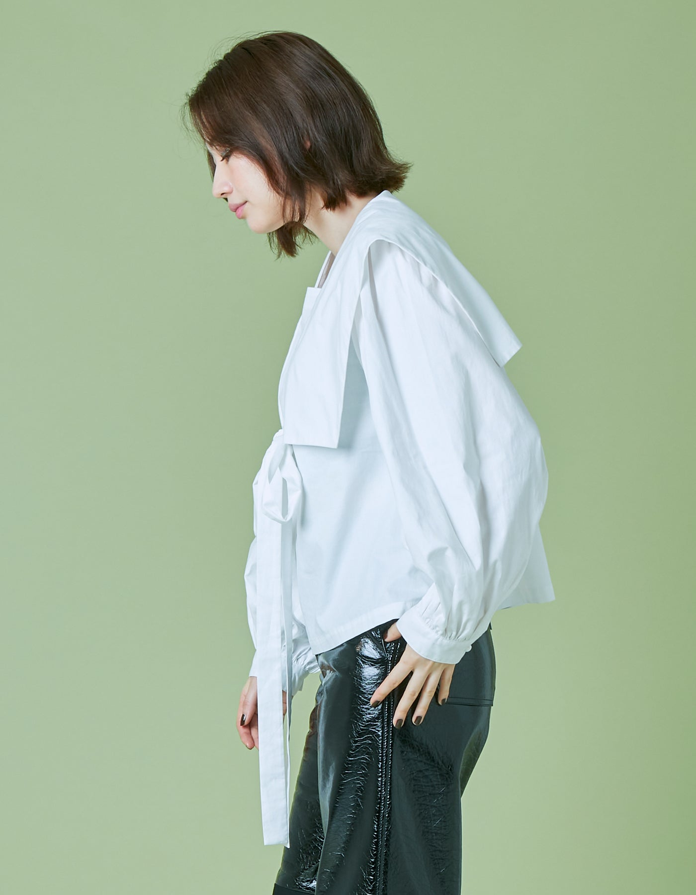 Sailor blouse / WHITE