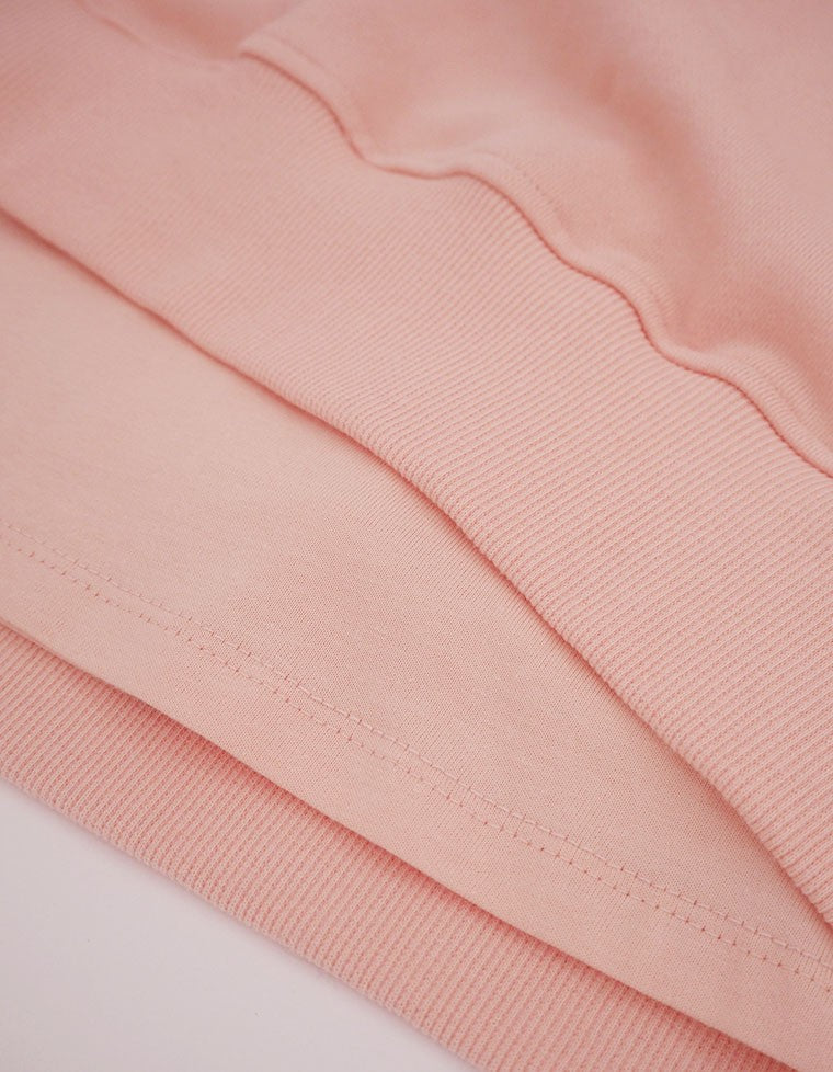 LAYERED SWEATER / PINK