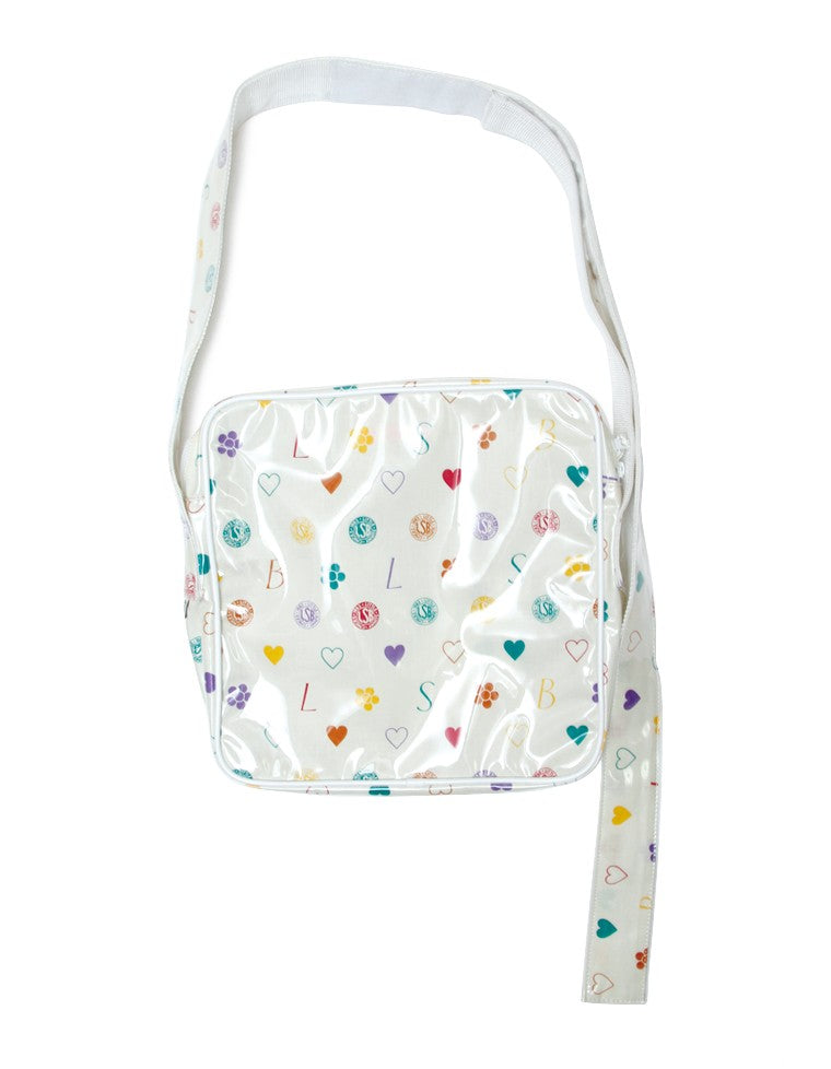 LSB ORIGINAL HEMP SHOULDER BAG / WHITE
