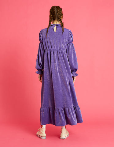 Long girly dress / PURPLE