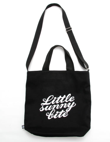 Grateful dead x little sunny bite tote bag / BLACK