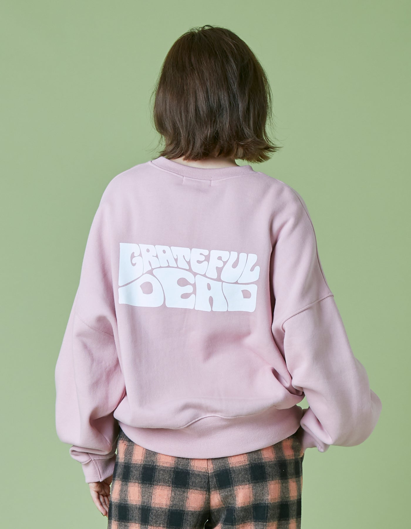 Grateful Dead x little sunny bite big sweat top / PINK